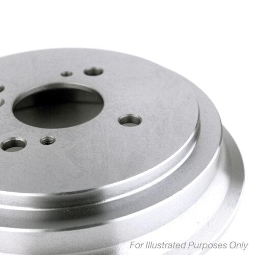 2x Genuine Comline Front Vented Coated Brake Discs Set Pair ADC1041V