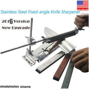 Knife Sharpener Professional Kitchen Sharpening System Fix Angle 4