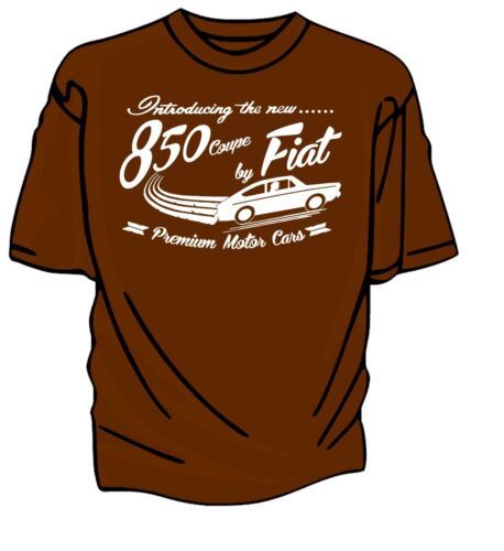 "/""Introducing The New/"" 850 Coupe by Fiat Retro T-Shirt."