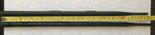 2.4GHz 9dBi High Gain 802.11B//G//N Screw-on RP-SMA Wireless WiFi Antenna USA