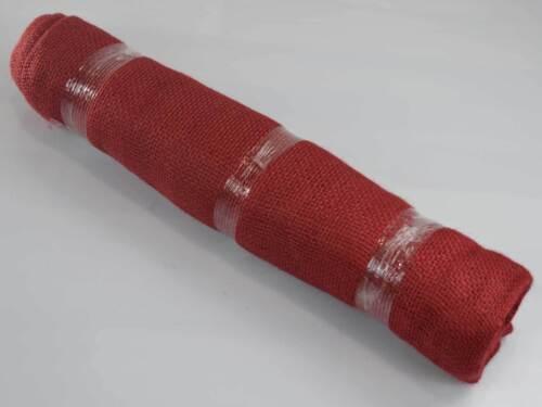 Jutegewebe Jute-Faser Pflanzenschutz Winterschutz Kübel Frost 5x1,05m Jute Rot