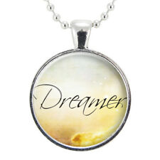 Dreamer Necklace, Inspirational Word Jewelry, Wanderer, Gift Ideas For Free Spir