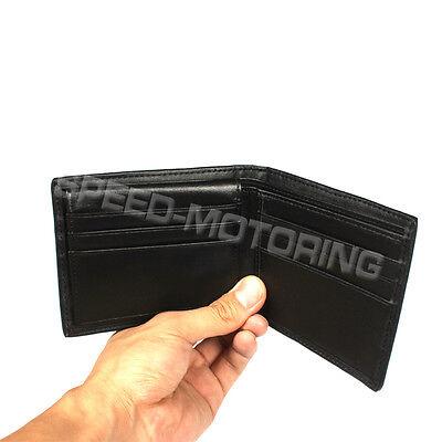 Car Registration&Insurance Case Document Holder Carbon Fiber Black Wallet Folder