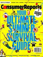 Consumer Reports July 2016 Your Ultimate Summer Survival Guide Best & Worst