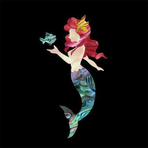 Little Mermaid UK-272LM-N Inlay Stickers