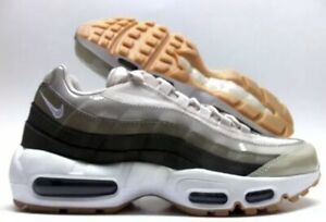 d4c14b6a9a NIKE AIR MAX 95 BEIGE OFF WHITE SIZE GYM RUNNING WORKOUT WOMEN 11.5 ...