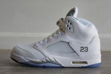 c9e0bdb75074 item 2 NEW Nike Air Jordan V Retro White Silver Metallic - Size 7.5uk -  42eu -NEW Nike Air Jordan V Retro White Silver Metallic - Size 7.5uk - 42eu