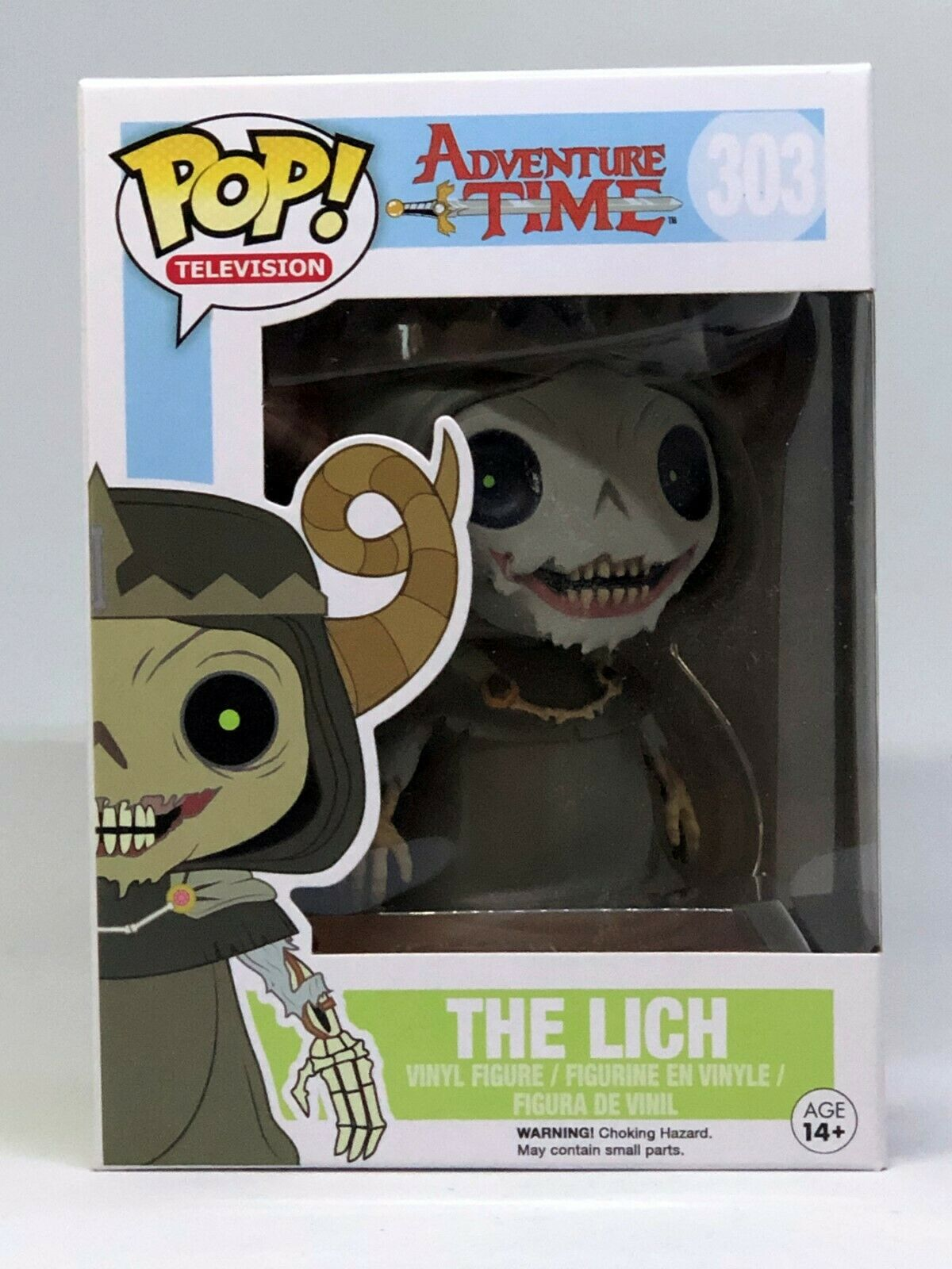 Funko Pop TV Adventure Time The Lich King ACTION FIGURE NEW
