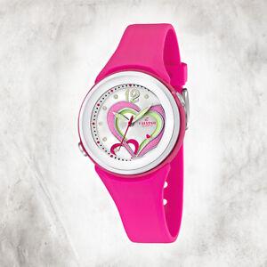 Calypso-Plastico-Puro-Reloj-de-Mujer-K5576-5-Pulsera-Rosa-Analogico-UK5576-5