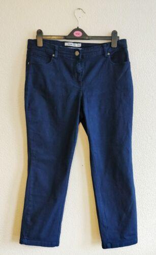 Debenhams Slim Leg Blue  Mid Rise Jeans Size 16s