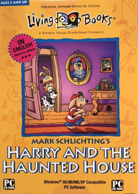 Harry and The Haunted House by Broderbund PC Cd-rom