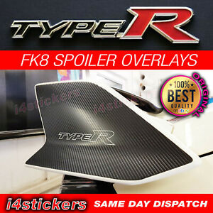 2017-Honda-Civic-Type-R-Carbon-spoiler-vinyl-overlay-sticker-decal-FK8