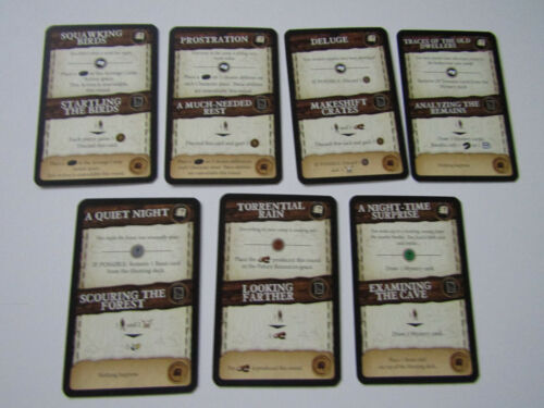 Robinson Crusoe PROMO Mini Erweiterung PROMO 7 Neue Event Cards