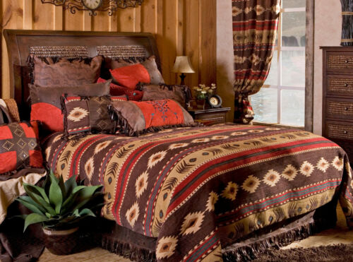 Cimarron 5 Piece Comforter Bedding Set with Drapes Option - FREE SHIPPING