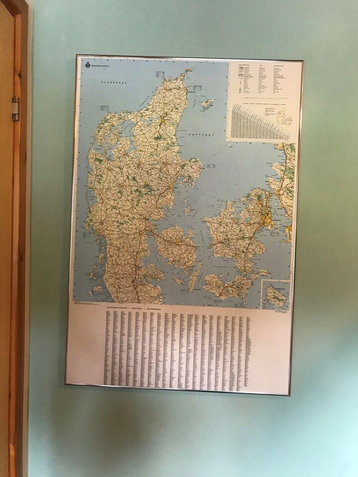 Landkort Geodaetisk Kort Danmark Dba Dk Kob Og Salg Af Nyt
