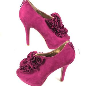 Charlotte Russe Shoes | Bright Pink High Heels | Poshmark