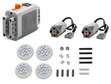 LEGO 23pc Technic Power Functions M Motor 8883 8881 Axle Gear Plane Truck Robot