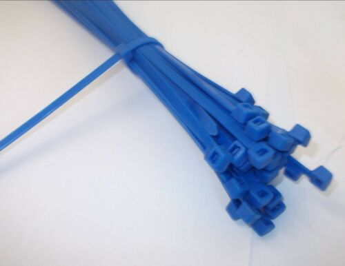 *Top Quality! Nylon cable ties 100mm x 2.5mm Strong 7 different colours