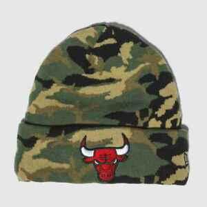 066157de6cf Image is loading New-2019-Chicago-Bulls-New-Era-Essential-Camo-