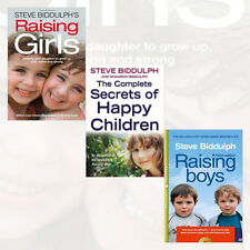 Steve Biddulph 3 Books Collection Raising Boys, Steve Biddulph's Raising Girls