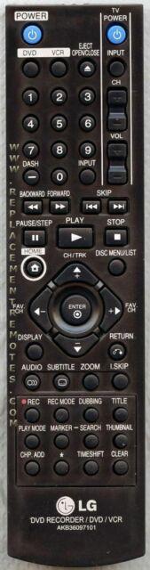 Original LG Remote Control for RC397H, RC397HM, RC897T