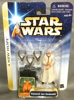 Hasbro Star Wars A Hope Battle of Yavin General Jan Dodonna w/Ceremonial Medals and Base Toys