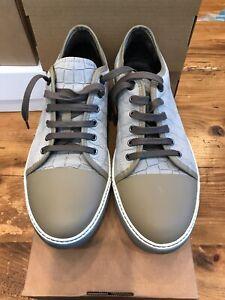 Lanvin Snakeskin Sneakers Shoes - Size