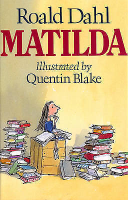 Matilda by Roald Dahl, Acceptable Used Book (Hardcover) Fast & FREE Delivery!