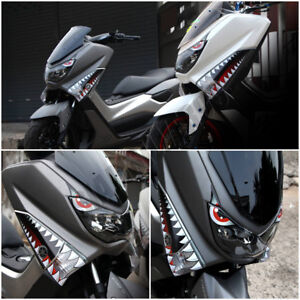 yamaha nmax 125 155 160 shark sticker graphic 3m decal set. Black Bedroom Furniture Sets. Home Design Ideas