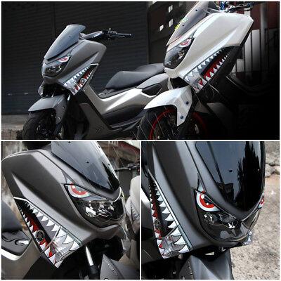 Yamaha Nmax 125 155 160 Shark Sticker Graphic 3m Decal Set Fairings L R 2017 Ebay