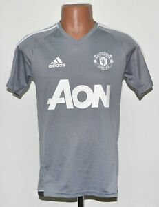 Manchester United 2017/2018 Training Football shirt jersey Adidas Taglia S adulto