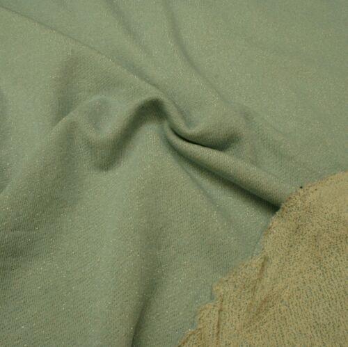 Lurex Jersey Fabric Polyester Half Metre Polyamide Cotton Blue Sparkle