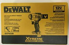 Dewalt Dcf902b Xtreme 12v Max Brushless 38 In Cordless Impact Wrench Tool Onl