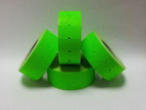 10,000 etiquetas de Pistola de Precio CT1 Verde Para Motex MX-5500
