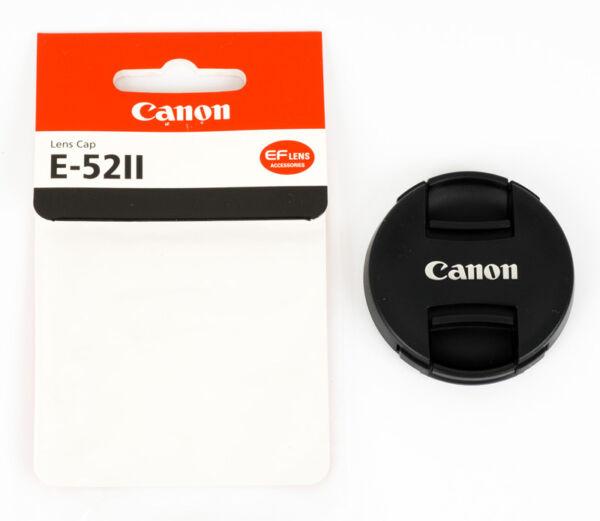 Canon Nouveau Bouchon Avant Objectif Diam. 52mm à Pince Centrale
