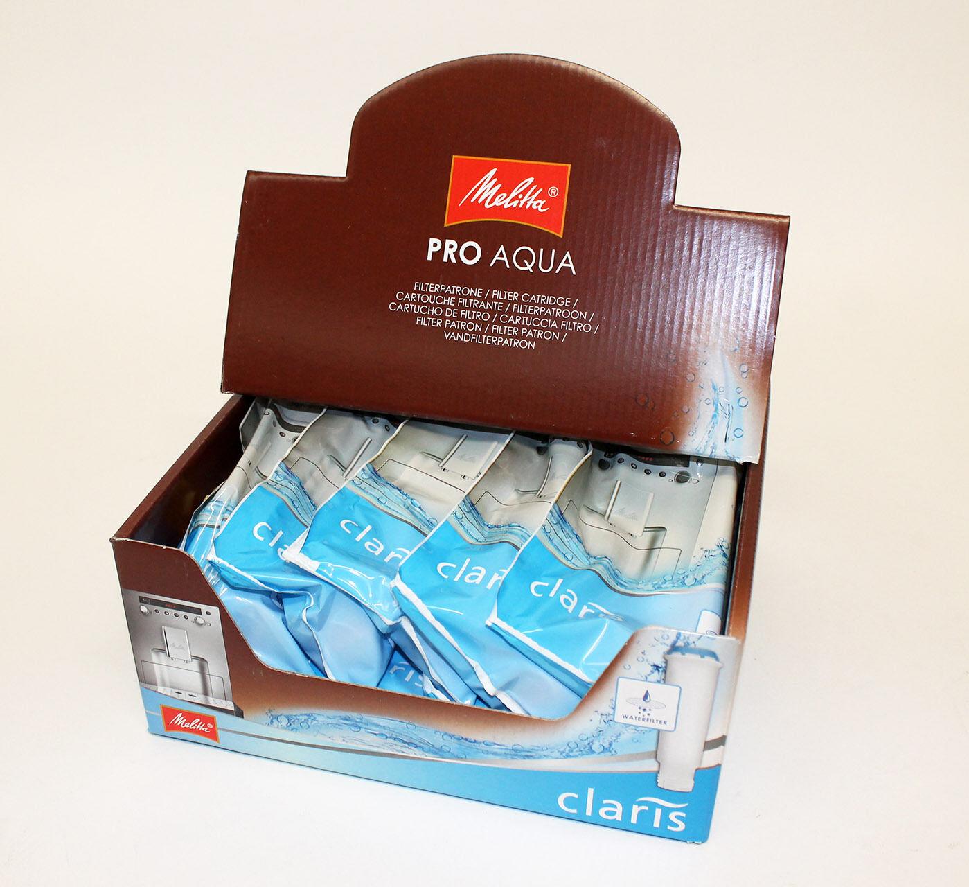 10 X Melitta Caffeo Pro Aqua Claris CARTOUCHES Filtre Eau en Vrac Achat
