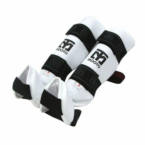 Mooto Taekwondo Shin Instep Protector