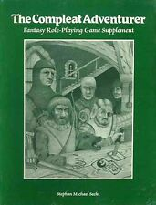 THE COMPLEAT ADVENTURER SEALED NEW AD&D D&D BARD GAMES Wizard Dungeons & Dragons