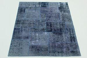 Moderno-Parche-lavado-a-la-piedra-Alfombra-Persa-Alfombra-Oriental-1-76-X1-38