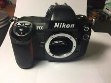 NIKON F100 35mm SLR Film Camera BODY ONLY! FOR PARTS / REPAIR! AS-IS!