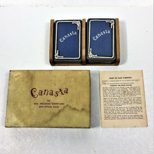 Vintage Original Card Game, Canasta (New Argentine Rummy