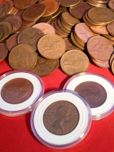 1961 Penny Uncirculated Australian PreDecimal 1 x Coin w  New Case Suit PCGS ?