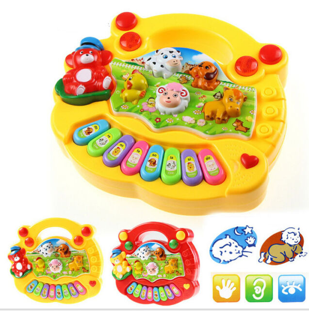 Baby Music Musical Developmental Animal Farm Piano Sound Educational Toy Gift
