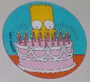 Astounding 1996 The Simpsons Magic Motion Tazo 178 Bart Simpson Birthday Funny Birthday Cards Online Alyptdamsfinfo