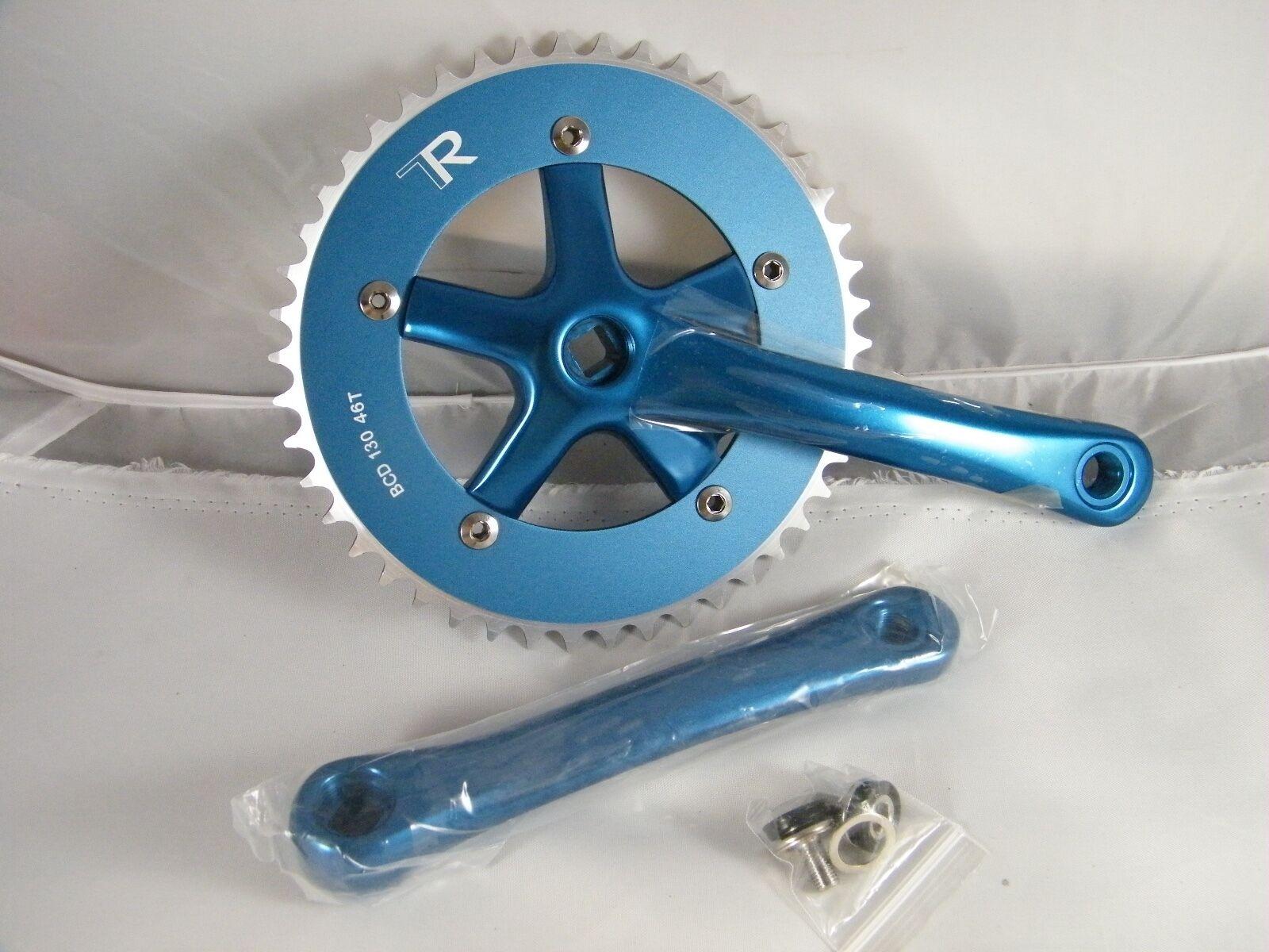 NEW  DRIVELINE CRANKSET TK13 170 MM blueeE PART DL-TK-170-BL,   BCD 130  46T  for sale online