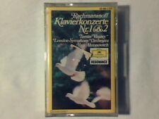 YURI AHRONOVITCH Rachmaninoff: Klavierkonzerte nr. 1&2 mc cassette k7 SIGILLATA