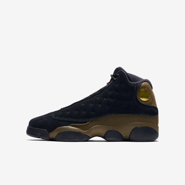 b913ef25a910f6 Air Jordan 13 Retro Boys Grade School SNEAKERS 884129-006 4y
