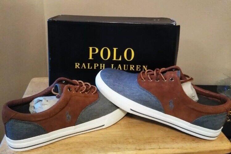 Polo ralph lauren gli sport sk vaugh sk sport cia Uomo grey / newsn chambray dimensioni 10,5 b0bed8
