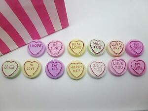 Handmade Novelty Clay Love Heart Proposal Marry Me Sweets Magnets
