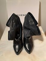 Støvletter, str. 36,5, Givenchy, sort, skind